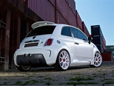 Fiat 500 Abarth Tune by Zender Abarth 500 Corsa Stradale Revealed