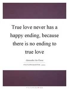 True Love Has No Happy Ending
