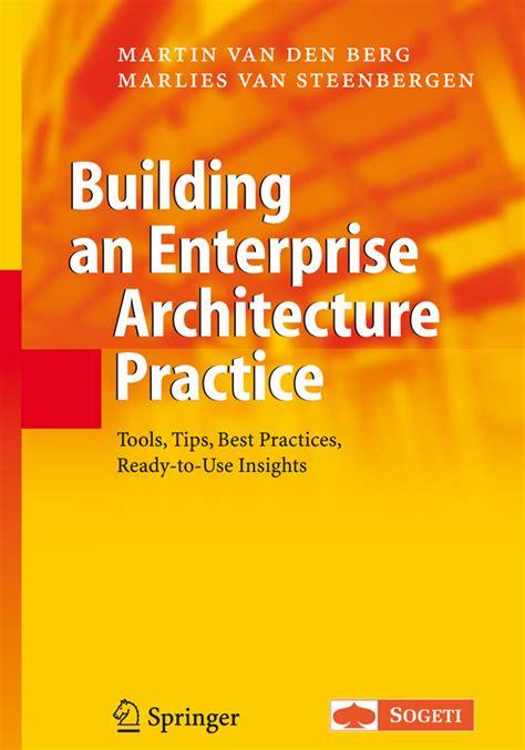 building  enterprise architecture practice