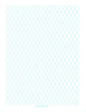 printable diamond graph paper cm