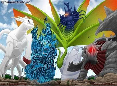 Tailed Beasts Naruto Dragons Deviantart Wallpapers Beast