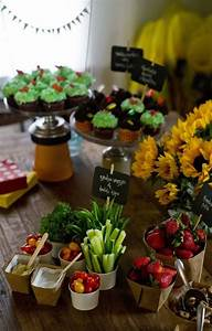 Food Ideas For Peter Rabbit Party I LOVE The Signs