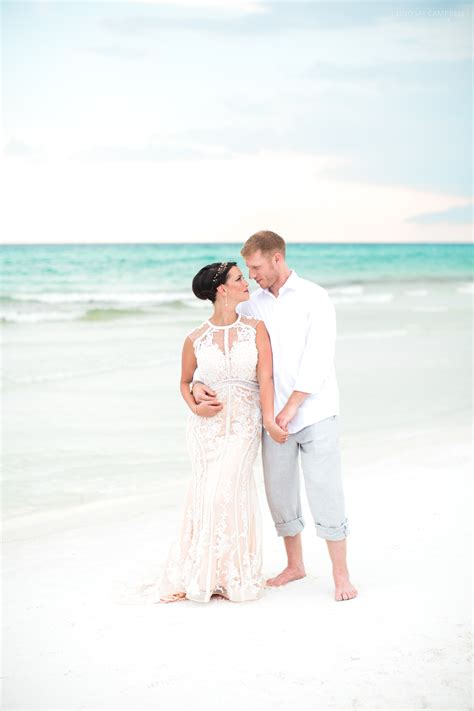 mat stevie blush  gray destin beach wedding