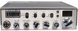 Connex  Cx-33hp-atc   Fm  Pa  Black  10 Meter Amateur