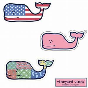 Vineyard Vines Whale Sticker | www.imgkid.com - The Image ...