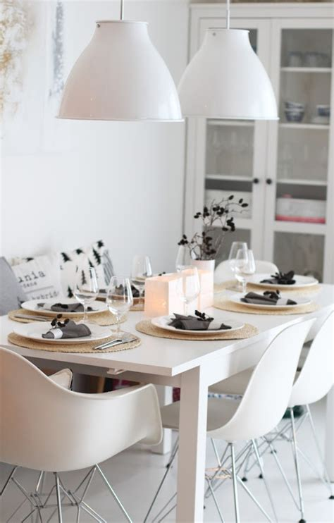 31 Timeless Minimalist Dining Rooms And Spaces - DigsDigs