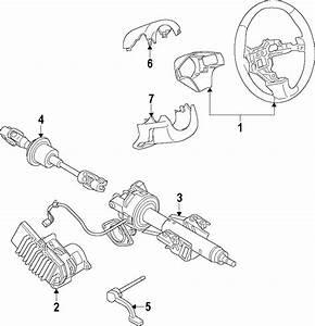 Chevrolet Impala Steering Column Cover  Impala  W  Keyless