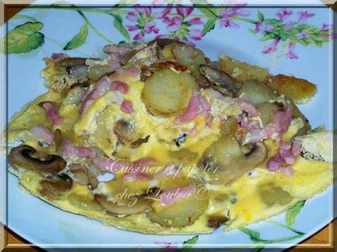 recettes d omelettes et lardons