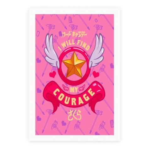 cardcaptor sakura   find  courage poster lookhuman