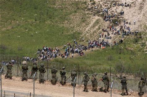 border clashes israel syria violence news