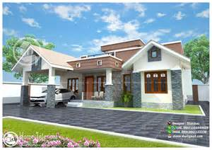 kerala home design interior 1300 sq ft modern single floor home design