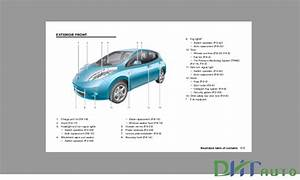 Nissan Leaf Model Ze0 2011 Series Service  U0026 Repair Manual