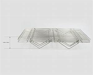 Surpahs 304 Grade Stainless Steel 3-Tier Stackable Cooling ...