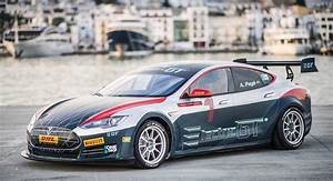 Tesla Model S Racing Series Obtains Fia Approval  Could