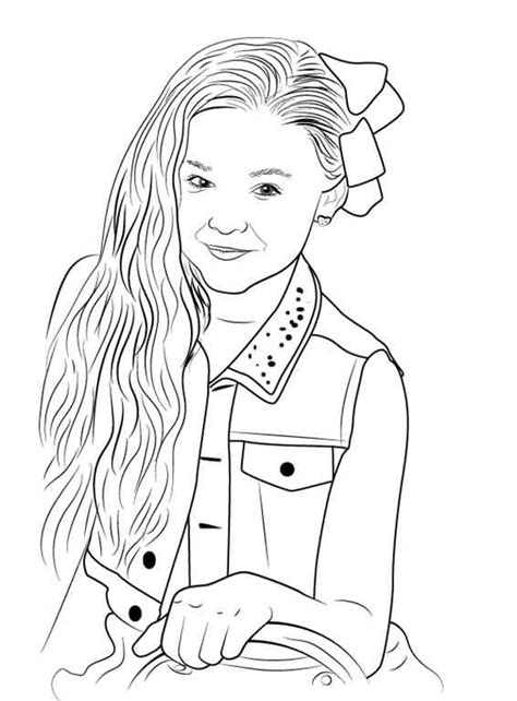 jojo siwa coloring pages  print  kids pictures