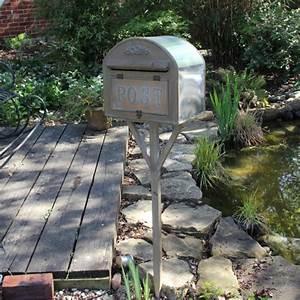 Briefkasten Shabby Chic : freistehend metall briefkasten post garten shabby vintage ~ Michelbontemps.com Haus und Dekorationen