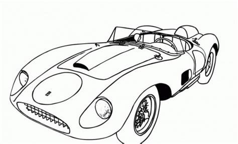 dibujos de autos deportivos  colorear colorear imagenes