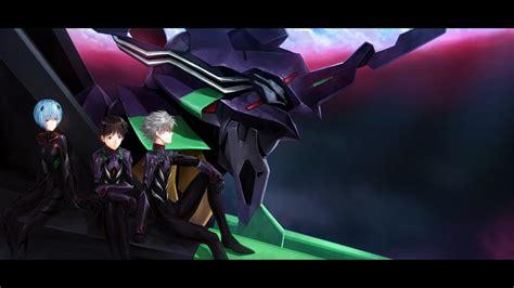 EVA Unit 01, Kaworu Nagisa, Ikari Shinji, Ayanami Rei