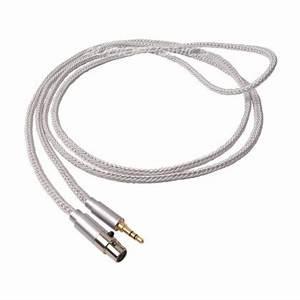 1877phono cali white 35 mini xlr headphone cable jack 3 With wiring xlr to phono