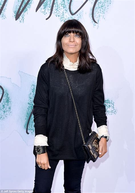 Claudia Winkleman wears all-black at Serpentine party ...