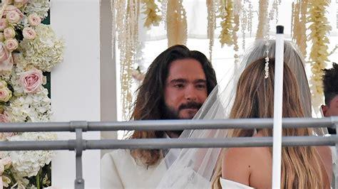 hochzeit heidi klum und tom kaulitz sind verheiratet