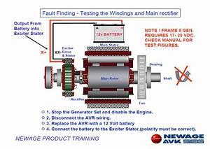 We Engineers  Diesel Generator Alternator Fault Finding Manual