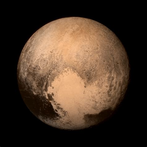 what is the color of pluto color pluto nasa solar system exploration