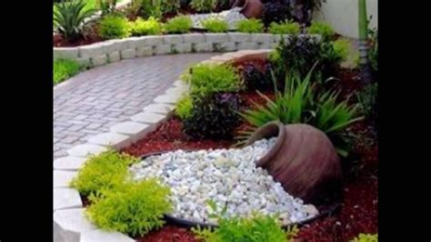 creativas ideas  decorar tu jardin youtube