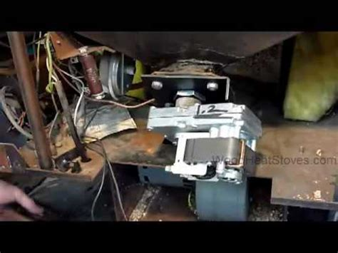 whitfield pellet stove auger motor troubleshooting