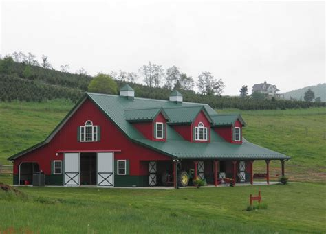 Metal Barn Style Home Plans