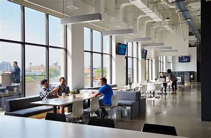 Office Chicago Inside Space Ncsa Sleek Cool
