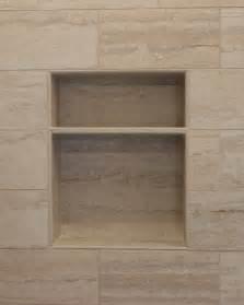 Ceramic Tile Shower Shelf