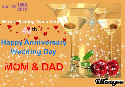 heres wishing     happy anniversary wedding day mom dad god bless