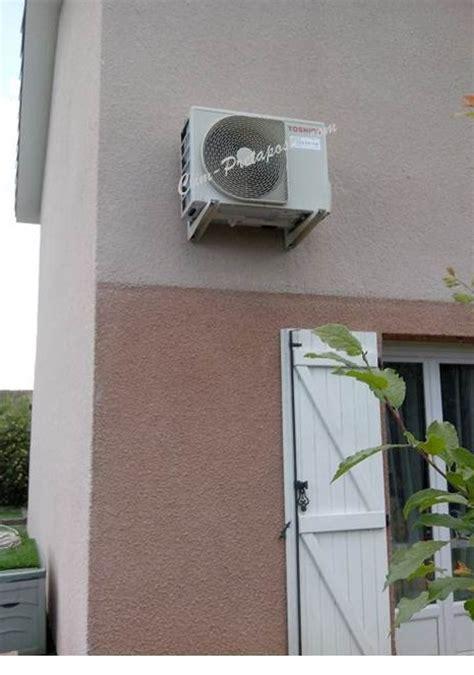 vente en ligne support mural blanc pour unit extrieure de climatisation sur clim pretaposer