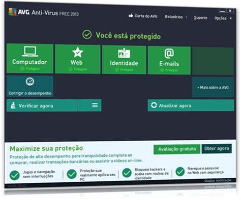 avg antivirus baixar gratuito para netbook