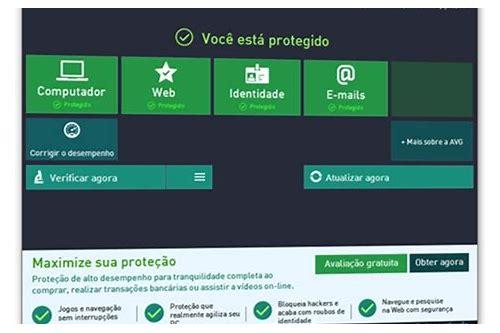 baixar a configuração do antivirus gratuito avg