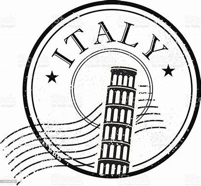 Stamp Italy Vector Tuscany Grunge Drawing Drawings