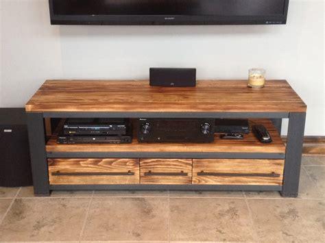 meuble tv industriel bois meuble tv bois m 233 tal meuble t 233 l 233 style industriel bois m 233 tal