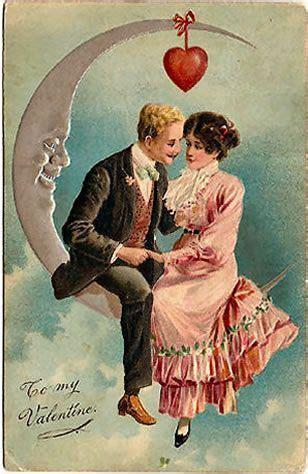 vintage moon valentinesigh vintage valentine cards