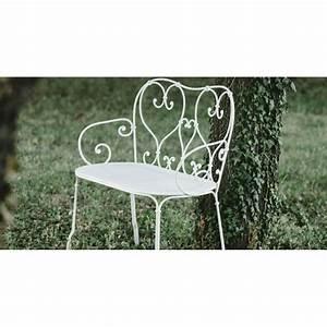 Banc En Fer : location banc de jardin en fer forg location de meubles ~ Preciouscoupons.com Idées de Décoration