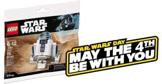 Star Wars May the 4th : polybag LEGO 30611 R2-D2 et 10% de ...