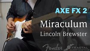 Lincoln Brewster - Miraculum Guitar Cover Chords