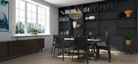 Free 3d Models  Dining Room  Dining Room  By Than Nguyen