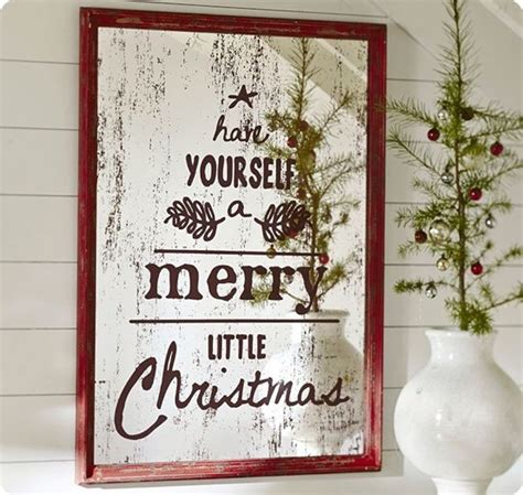 antiqued christmas mirror makeover knockoffdecorcom