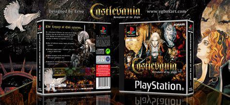 castlevania symphony   night playstation box art