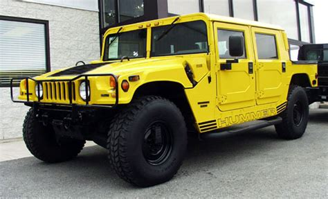 hummer   model year
