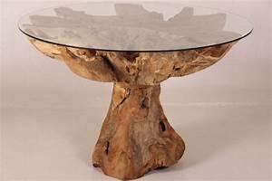 Wurzelholz Tisch Mit Glasplatte : esstisch holz mit glasplatte ~ Bigdaddyawards.com Haus und Dekorationen