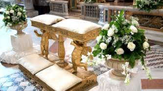 wedding arrangements best wedding church altar decorations