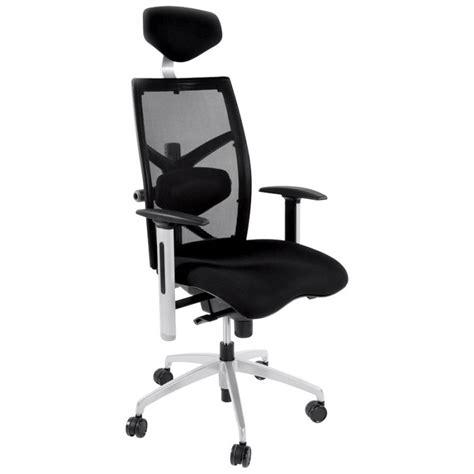 fauteuil bureau tissu fauteuil de bureau cornue en tissu noir
