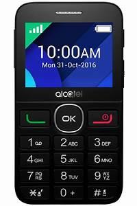 Téléphone portable Alcatel 2008G NOIR (4256344)